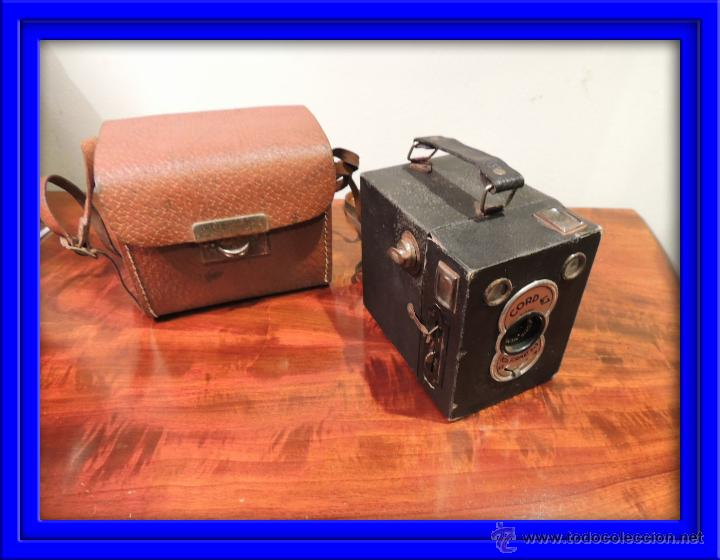 CAMARA DE FOTOS CORD 47 CON SU FUNDA ORIGINAL (Cámaras Fotográficas - Antiguas (hasta 1950))