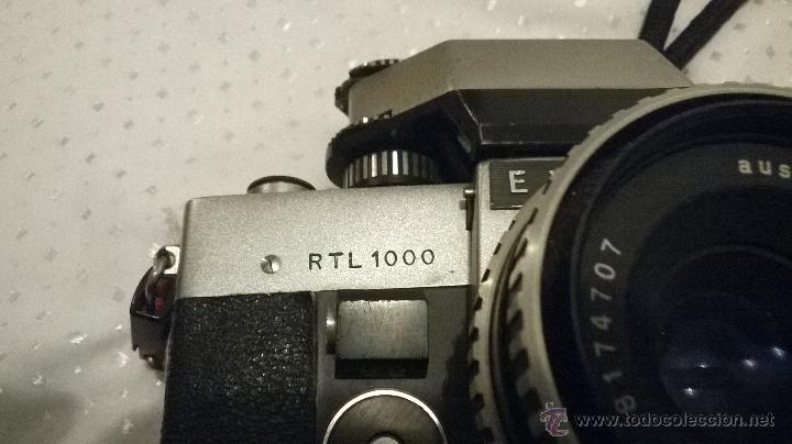 Cámara de fotos: CAMARA FOTOGRAFICA EXAKTA RT 1000. - Foto 3 - 46717504