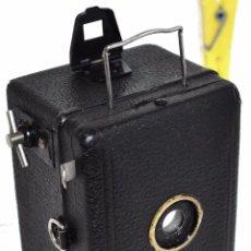 Cámara de fotos: PRECIOSA..BOX MINIATURA..ZEISS IKON BABY BOX 54/18..ALEMANIA 1930.. BUEN ESTADO..FUNCIONA.. Lote 48420094
