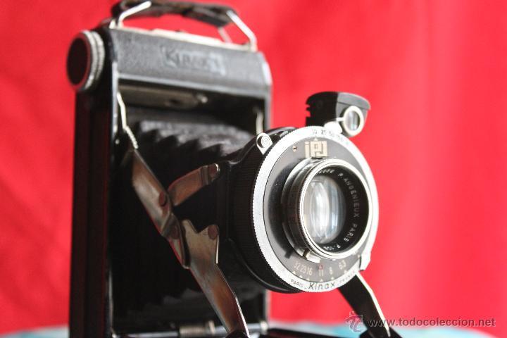 Cámara de fotos: Cámara Kinax I (objetivo Angenieux) + funda de cuero - Foto 4 - 48484563