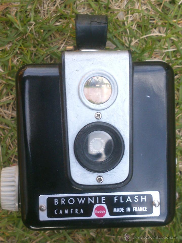 Cámara de fotos: camara fotografica kodak brownie flash - Foto 2 - 48841966