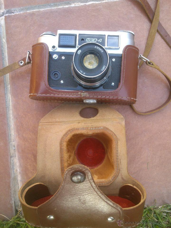 CAMARA FOTOGRAFICA RUSA, COD- 4 (Cámaras Fotográficas - Antiguas (hasta 1950))