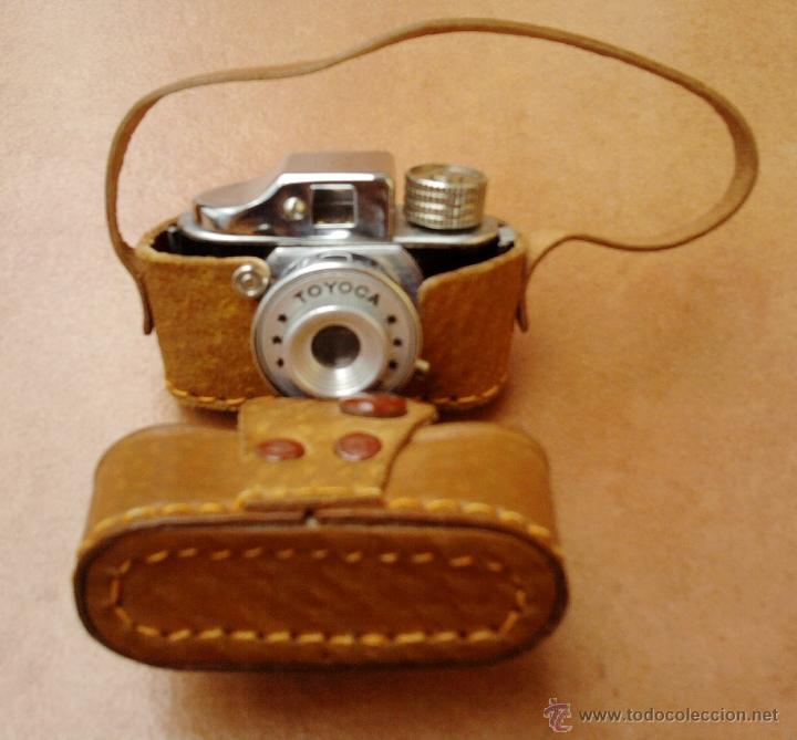 FOTOGRAFIA,MINI-MICRO CAMARA ESPIA JAPONESA,AÑOS 50/60,TOYOCA,CON FUNDA, DE COLECCION COMO LEICA (Cámaras Fotográficas - Antiguas (hasta 1950))