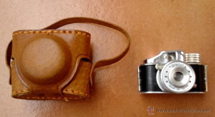 Cámara de fotos: FOTOGRAFIA,MINI-MICRO CAMARA ESPIA JAPONESA,AÑOS 50/60,TOYOCA,CON FUNDA, DE COLECCION COMO LEICA - Foto 2 - 49176805