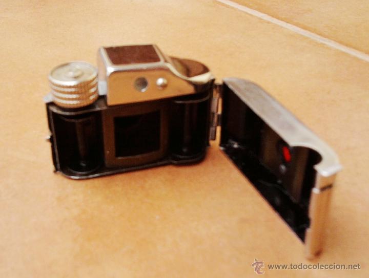 Cámara de fotos: FOTOGRAFIA,MINI-MICRO CAMARA ESPIA JAPONESA,AÑOS 50/60,TOYOCA,CON FUNDA, DE COLECCION COMO LEICA - Foto 6 - 49176805
