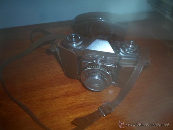 Cámara de fotos: Camara de fotos ZEISS IKON, CONTAFLEX, Made in Germany (con funda) - Foto 3 - 49377900