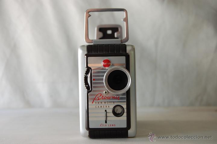 Cámara de fotos: COLECCIONISTAS- Camara filmadora 8 mm. BROWNIE KODAK movie camera U.S.A. decada 50s - Foto 3 - 49765691
