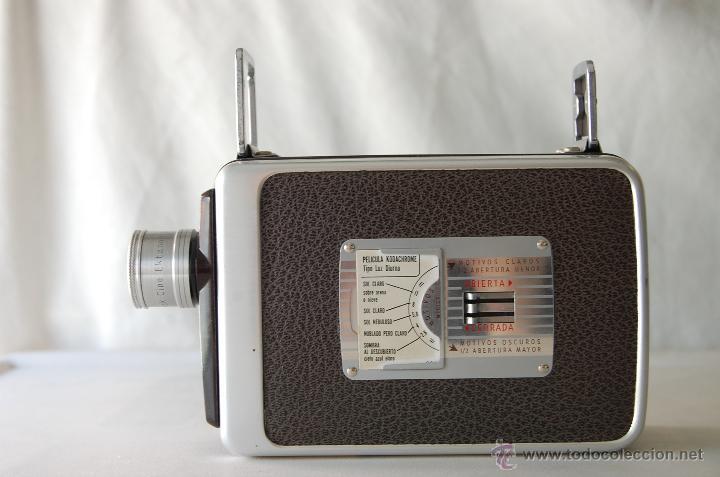 Cámara de fotos: COLECCIONISTAS- Camara filmadora 8 mm. BROWNIE KODAK movie camera U.S.A. decada 50s - Foto 5 - 49765691