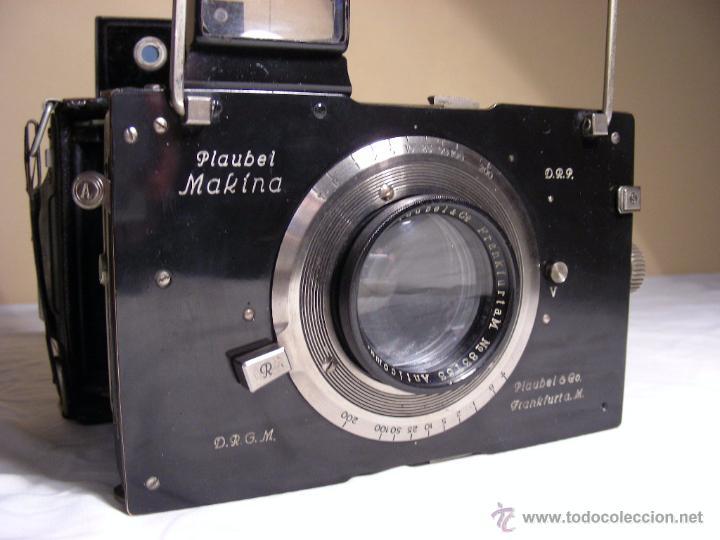 Cámara de fotos: Plaubel Makina I de 1920 - Foto 2 - 50905682