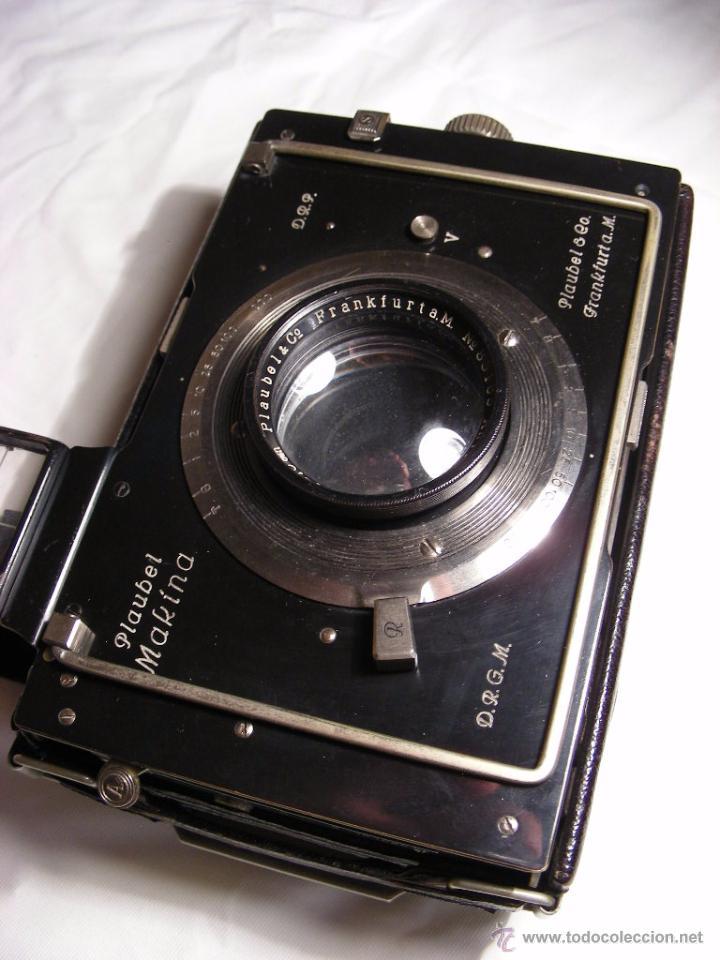 Cámara de fotos: Plaubel Makina I de 1920 - Foto 4 - 50905682