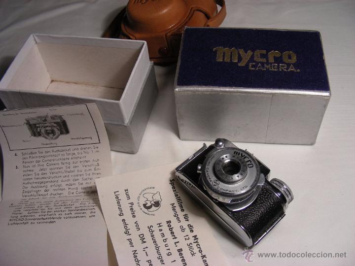 Cámara de fotos: Mycro III de 1949 - Foto 6 - 51001441
