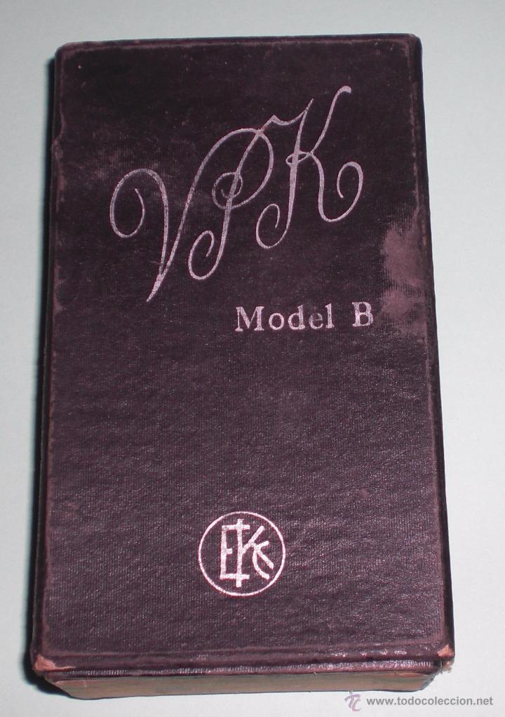 Cámara de fotos: KODAK VEST POCKET MODELO B DE FUELLE CON CAJA ORIGINAL. - Foto 8 - 51144445