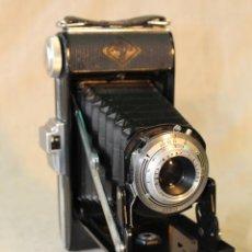 Cámara de fotos: ANTIGUA CAMARA DE FUELLE AGFA BILLY I. PRIMERA VERSIÓN, DE 1950, CON VISOR PLEGABLE.MADE IN GERMANY. Lote 52400364