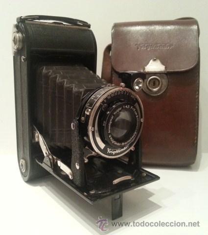 Antigua camara fotogr fica de fuelle voigtlande comprar - Camaras fotos antiguas ...