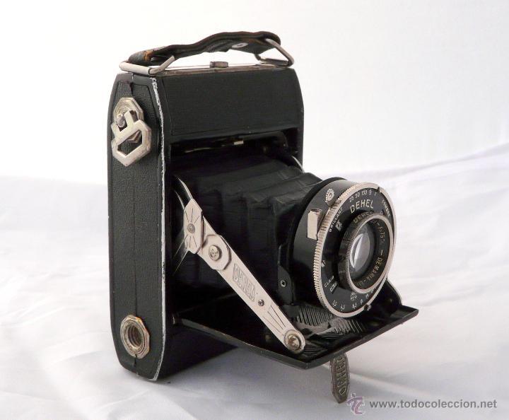 DEMARIA- LA PIERRE DEHEL CAMARA FUELLE ANTIGUA - RARA, 6X4,5 CM (Cámaras Fotográficas - Antiguas (hasta 1950))