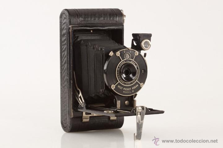 KODAK EASTMAN, VEST POCKET MODEL B (Cámaras Fotográficas - Antiguas (hasta 1950))
