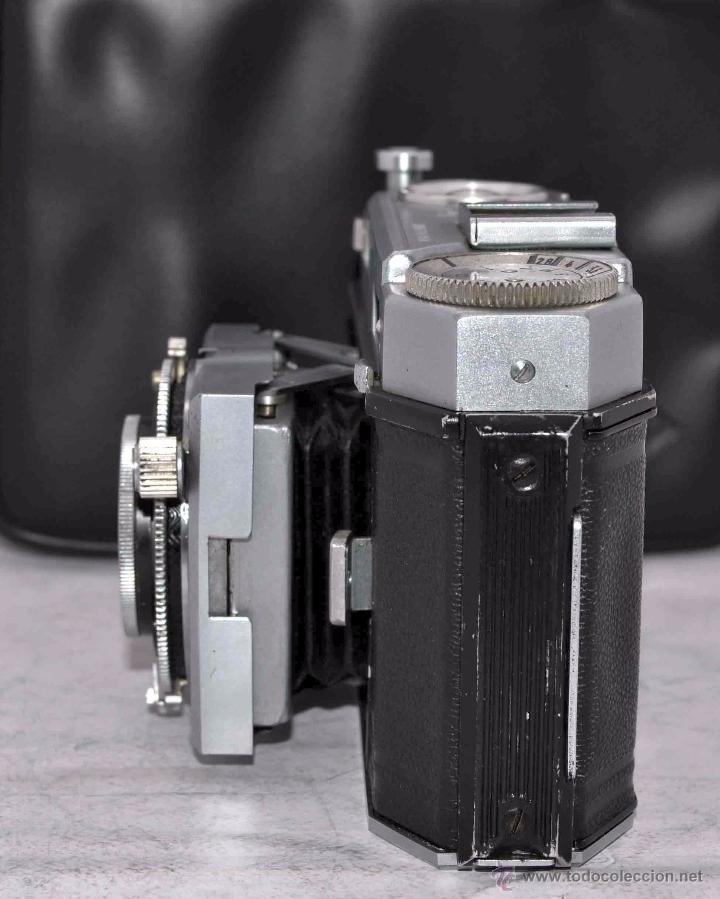 Cámara de fotos: TELEMETRICA, 35mm. RAPID..CALIDAD..ALEMANIA 1947..AGFA KARAT 12/2.8+FUNDA..MUY BUEN ESTADO..FUNCIONA - Foto 6 - 52891616