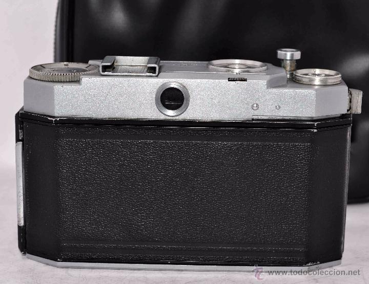 Cámara de fotos: TELEMETRICA, 35mm. RAPID..CALIDAD..ALEMANIA 1947..AGFA KARAT 12/2.8+FUNDA..MUY BUEN ESTADO..FUNCIONA - Foto 8 - 52891616
