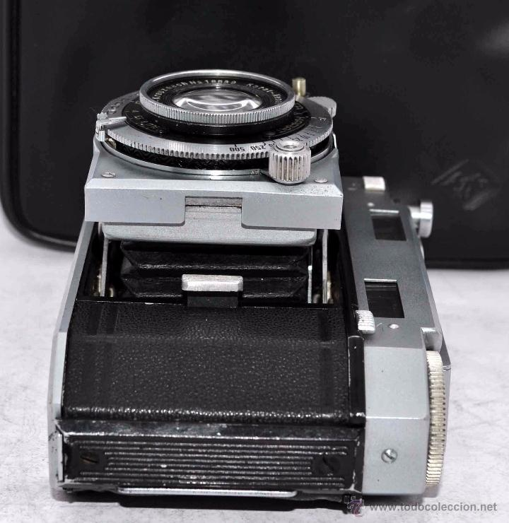 Cámara de fotos: TELEMETRICA, 35mm. RAPID..CALIDAD..ALEMANIA 1947..AGFA KARAT 12/2.8+FUNDA..MUY BUEN ESTADO..FUNCIONA - Foto 13 - 52891616