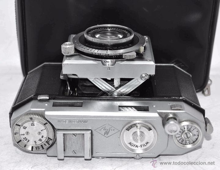 Cámara de fotos: TELEMETRICA, 35mm. RAPID..CALIDAD..ALEMANIA 1947..AGFA KARAT 12/2.8+FUNDA..MUY BUEN ESTADO..FUNCIONA - Foto 14 - 52891616