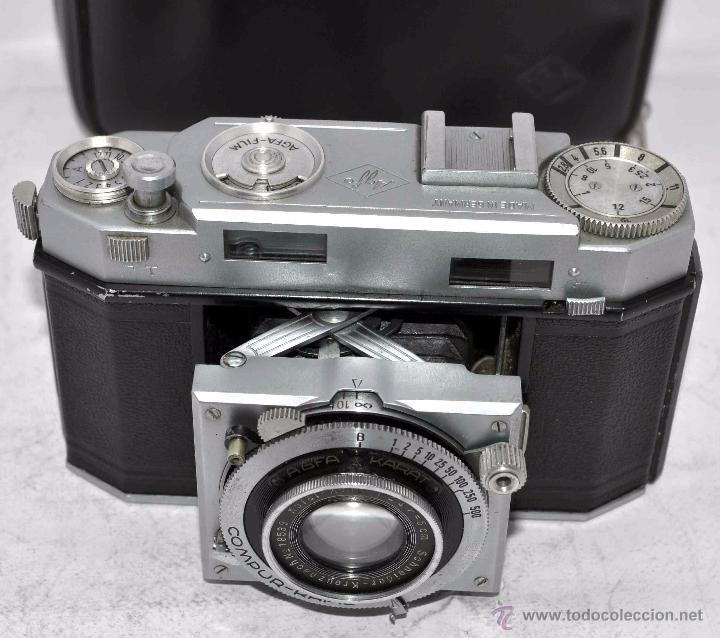 Cámara de fotos: TELEMETRICA, 35mm. RAPID..CALIDAD..ALEMANIA 1947..AGFA KARAT 12/2.8+FUNDA..MUY BUEN ESTADO..FUNCIONA - Foto 17 - 52891616