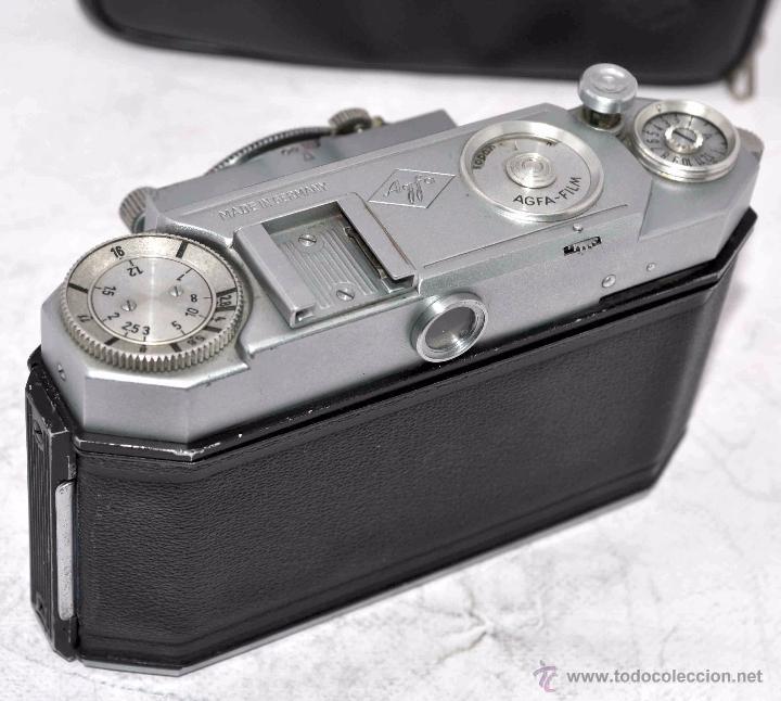 Cámara de fotos: TELEMETRICA, 35mm. RAPID..CALIDAD..ALEMANIA 1947..AGFA KARAT 12/2.8+FUNDA..MUY BUEN ESTADO..FUNCIONA - Foto 19 - 52891616