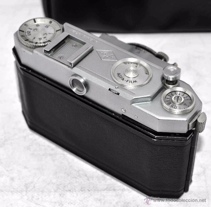 Cámara de fotos: TELEMETRICA, 35mm. RAPID..CALIDAD..ALEMANIA 1947..AGFA KARAT 12/2.8+FUNDA..MUY BUEN ESTADO..FUNCIONA - Foto 21 - 52891616