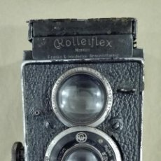 Cámara de fotos: ANTIGUA CÁMARA FOTOGRÁFICA ROLLEIFLEX I CARL ZEISS F 3,8-75 (1929-32). Lote 52959893