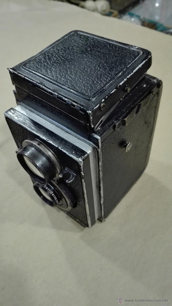 Cámara de fotos: ANTIGUA CÁMARA FOTOGRÁFICA ROLLEIFLEX I CARL ZEISS F 3,8-75 (1929-32) - Foto 5 - 52959893