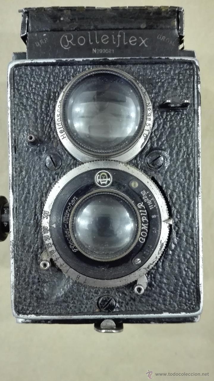 Cámara de fotos: ANTIGUA CÁMARA FOTOGRÁFICA ROLLEIFLEX I CARL ZEISS F 3,8-75 (1929-32) - Foto 9 - 52959893