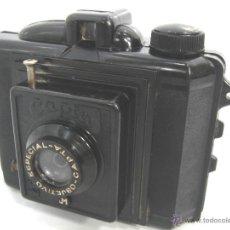 Fotocamere: ANTIGUA CAMARA BAQUELITA - CAPTA JM - AÑO 1940 - OBJETIVO ESPECIAL CAPTA -. Lote 53360542