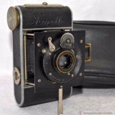 Cámara de fotos: PEQUEÑA ANTIGUA CAMARA,FUELLE, 127 FILM..KOCHMANN KORELLE+..ALEMANIA 1933..MUY BUEN ESTADO..FUNCIONA. Lote 53680458