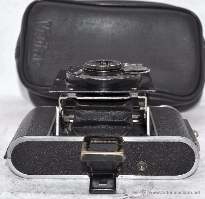 Cámara de fotos: PEQUEÑA ANTIGUA CAMARA,FUELLE, 127 FILM..KOCHMANN KORELLE+..ALEMANIA 1933..MUY BUEN ESTADO..FUNCIONA - Foto 17 - 53680458