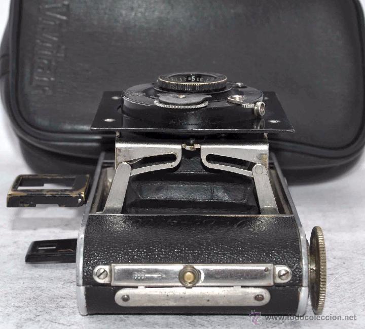 Cámara de fotos: PEQUEÑA ANTIGUA CAMARA,FUELLE, 127 FILM..KOCHMANN KORELLE+..ALEMANIA 1933..MUY BUEN ESTADO..FUNCIONA - Foto 18 - 53680458