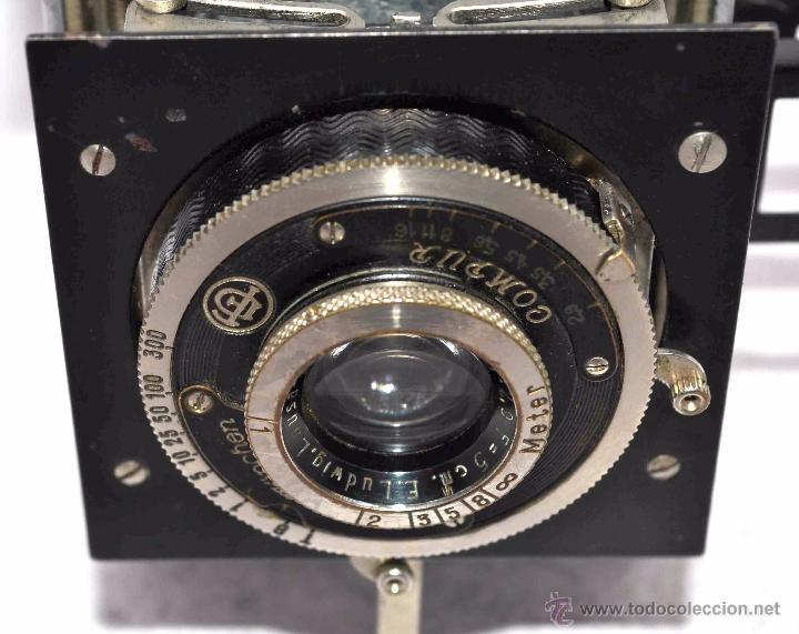 Cámara de fotos: PEQUEÑA, HISTORICA.FUELLE Y 127 FILM..KOCHMANN KORELLE+FUNDA.ALEMANIA 1933.MUY BUEN ESTADO..FUNCIONA - Foto 7 - 53812961