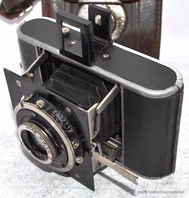 Cámara de fotos: PEQUEÑA, HISTORICA.FUELLE Y 127 FILM..KOCHMANN KORELLE+FUNDA.ALEMANIA 1933.MUY BUEN ESTADO..FUNCIONA - Foto 10 - 53812961