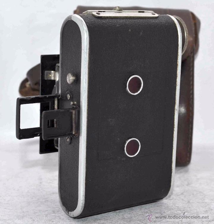 Cámara de fotos: PEQUEÑA, HISTORICA.FUELLE Y 127 FILM..KOCHMANN KORELLE+FUNDA.ALEMANIA 1933.MUY BUEN ESTADO..FUNCIONA - Foto 15 - 53812961