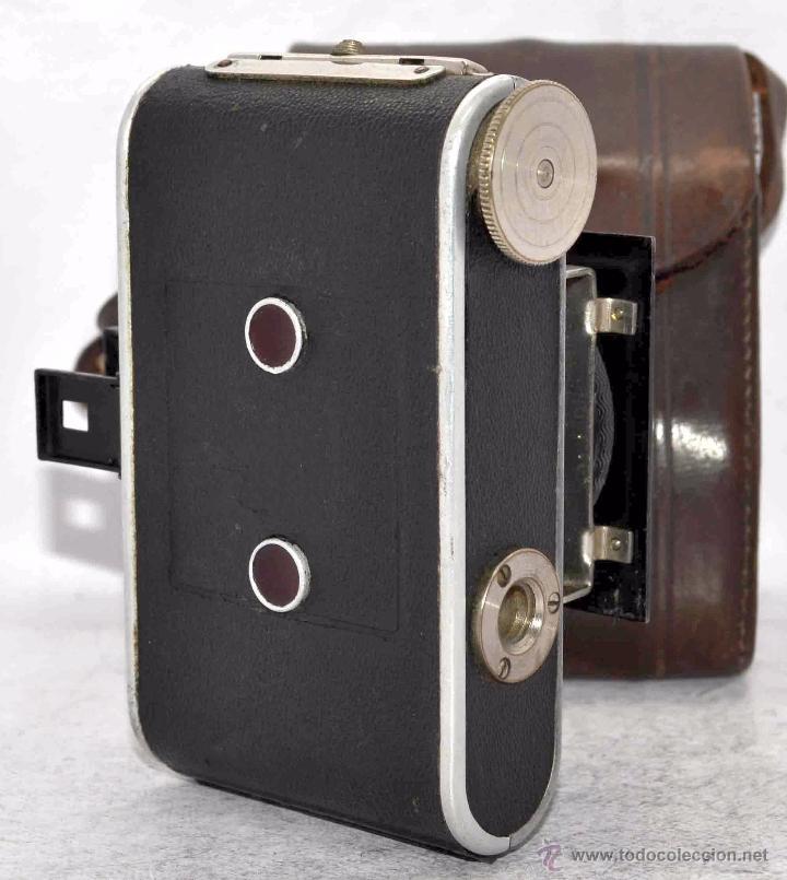 Cámara de fotos: PEQUEÑA, HISTORICA.FUELLE Y 127 FILM..KOCHMANN KORELLE+FUNDA.ALEMANIA 1933.MUY BUEN ESTADO..FUNCIONA - Foto 17 - 53812961