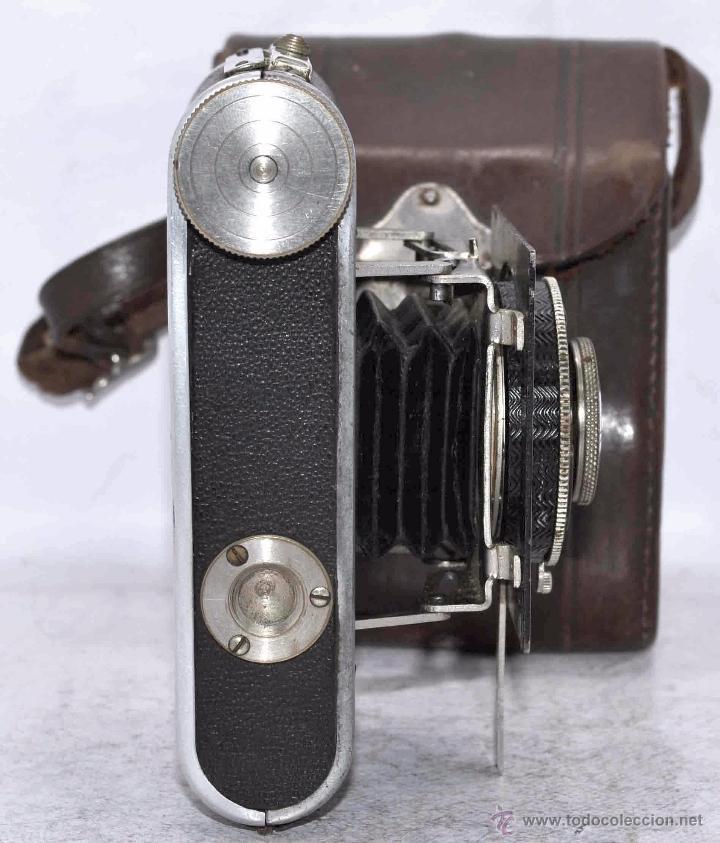 Cámara de fotos: PEQUEÑA, HISTORICA.FUELLE Y 127 FILM..KOCHMANN KORELLE+FUNDA.ALEMANIA 1933.MUY BUEN ESTADO..FUNCIONA - Foto 18 - 53812961