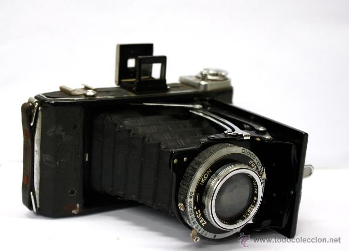 CAMARA FOTOGRAFICA DE FUELLE ZEISS IKON COMPUR-RAPID. AÑOS 30 (Cámaras Fotográficas - Antiguas (hasta 1950))