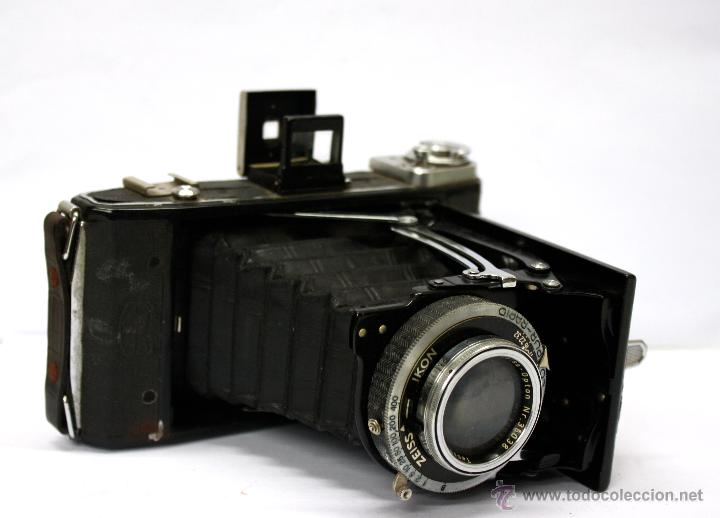 Cámara de fotos: CAMARA FOTOGRAFICA DE FUELLE ZEISS IKON COMPUR-RAPID. AÑOS 30 - Foto 2 - 54078710