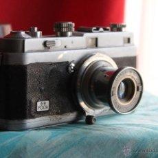 Cámara de fotos: CÁMARA FOCA (DOS ESTRELLAS) + FUNDA + OBJETIVO OPLAR 50MM F:3,5. Lote 54928129