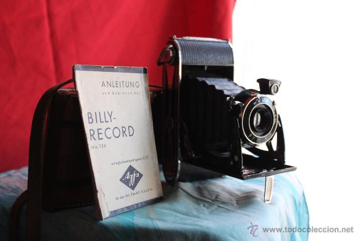 Cámara de fotos: Agfa Billy Record + funda de cuero+ folleto original - Foto 2 - 55035484