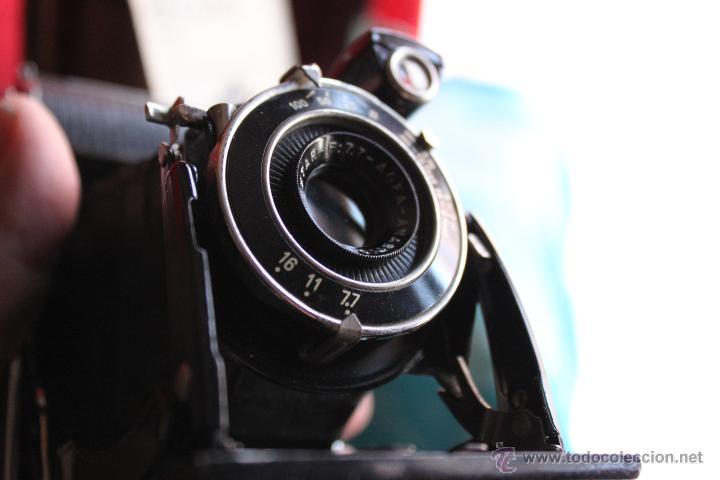 Cámara de fotos: Agfa Billy Record + funda de cuero+ folleto original - Foto 4 - 55035484
