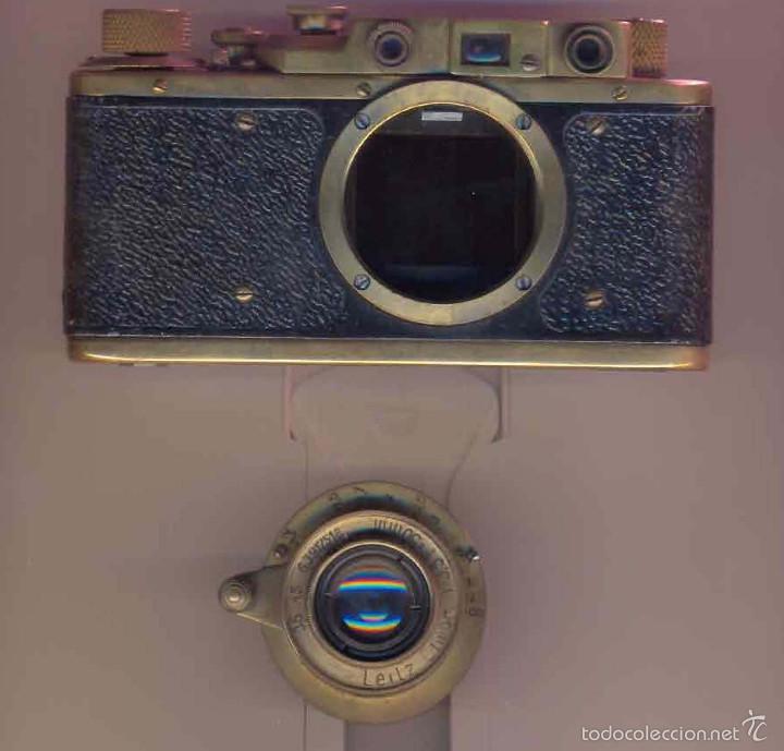 REPLICA LEICA III STANDAR, Nº 257781. ORIGINAL DEL AÑO 1937 SEGUN GUIDE MCKEOWN´S (Cámaras Fotográficas - Antiguas (hasta 1950))