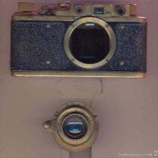 Cámara de fotos: REPLICA LEICA III STANDAR, Nº 257781. ORIGINAL DEL AÑO 1937 SEGUN GUIDE MCKEOWN´S. Lote 55349324