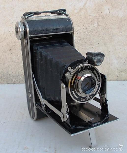 CAMARA FUELLE ANTIGUA CERTO CERTIX – 6X9 ROLLFILMKAMERA MIT 7,7/105MM - 1930, CAM365, C29 (Cámaras Fotográficas - Antiguas (hasta 1950))