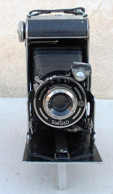 Cámara de fotos: camara fuelle antigua CERTO CERTIX – 6X9 ROLLFILMKAMERA MIT 7,7/105MM - 1930, cam365, c29 - Foto 2 - 55915713