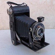 Cámara de fotos: CAMARA FUELLE ANTIGUA PORST HAPO 3 – 6X9 ROLLFILMKAMERA MIT VICTAR 6,3/105MM - 1939 CAM365, C30. Lote 55915798