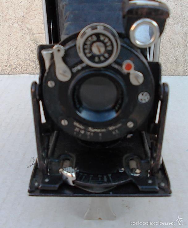 Cámara de fotos: camara fuelle antigua WELTA PERLE – 6X9 ROLLFILMKAMERA MIT WELTAR 6,3/105MM 1932-36 , cam365, c22 - Foto 2 - 55915868